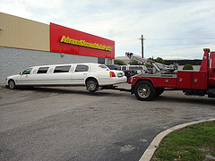 Towed Limo